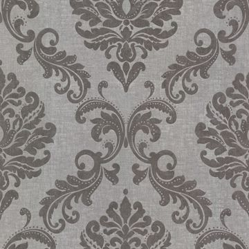 Sebastion Grey Damask