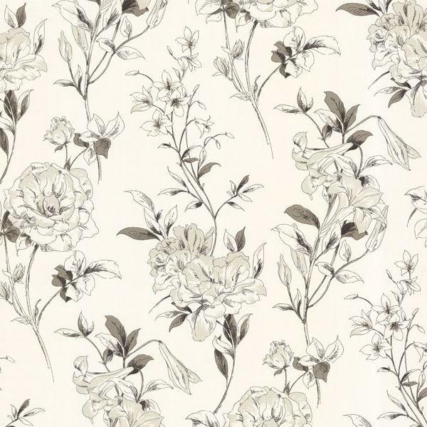 Jolie Cream Floral Toss