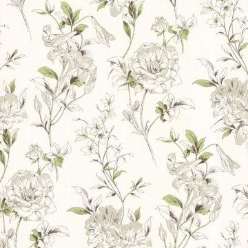 Jolie Green Floral Toss
