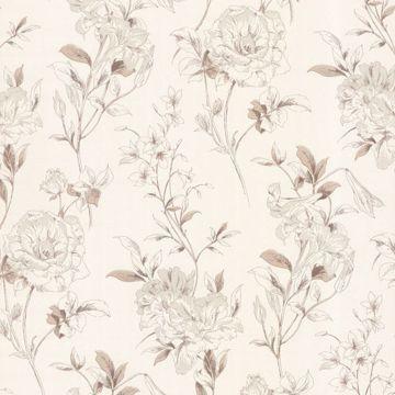 Jolie Beige Floral Toss