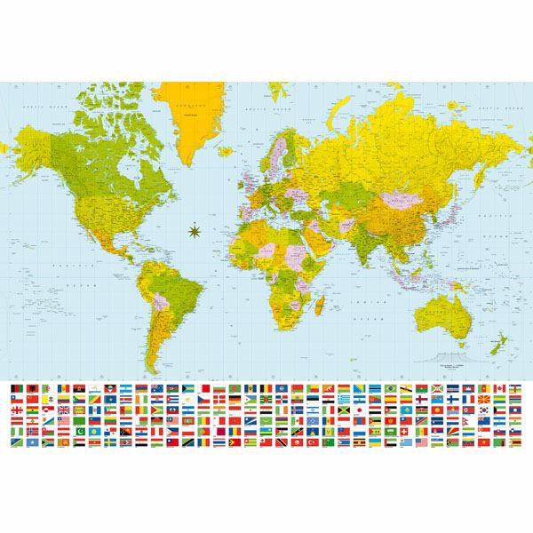 Map Of The World Large