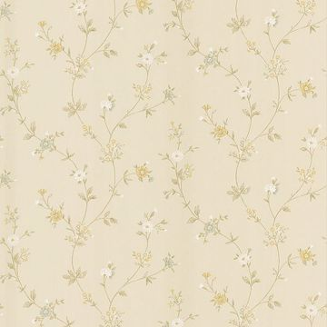 Daisy Beige Floral Trail