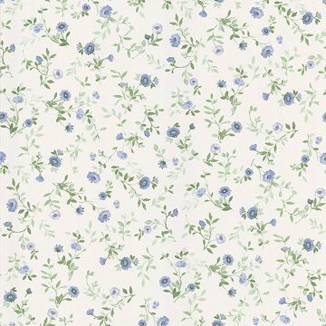 Garden Blue Wash Floral