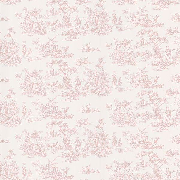 Maxine Pink Toile