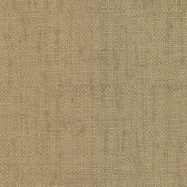 Hamptons Light Brown Faux Grasscloth