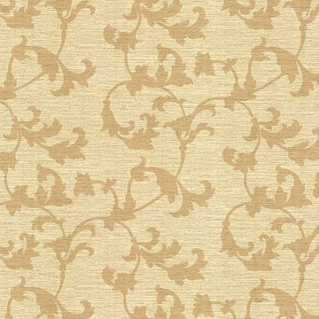 Rufina Beige Scroll Silhouette