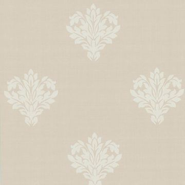 Astoria Cream Leafy Damask