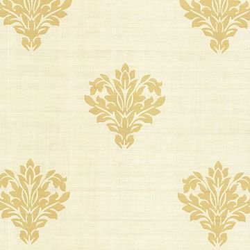 Astoria Beige Leafy Damask