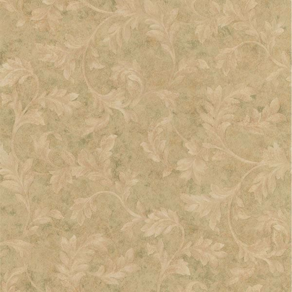 Totteridge Olive Leafy Scroll