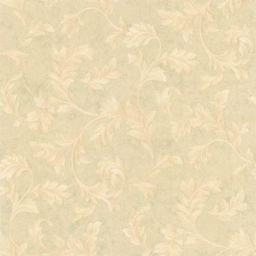 Totteridge Light Green Leafy Scroll