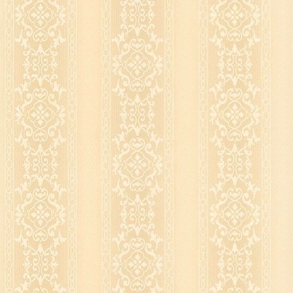 Camden Beige Ornate Stripe