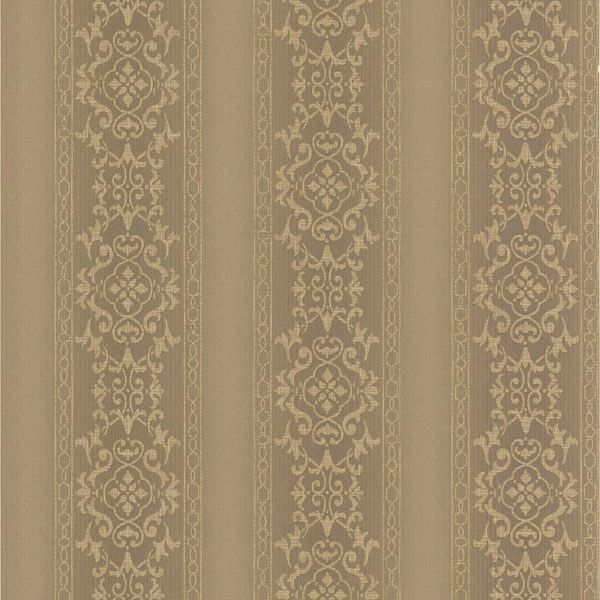 Camden Brass Ornate Stripe
