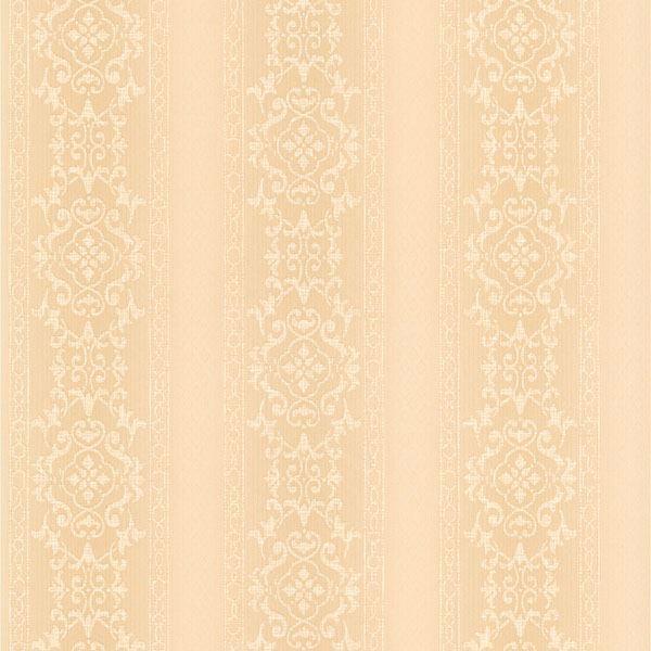Camden Peach Ornate Stripe