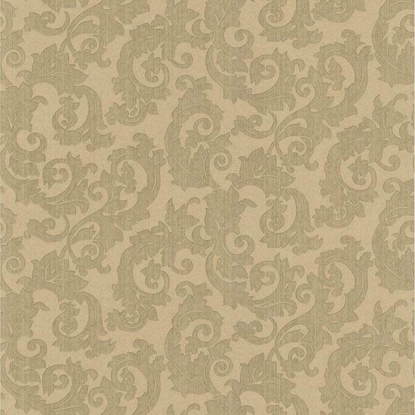 Fulham Olive Scrolls