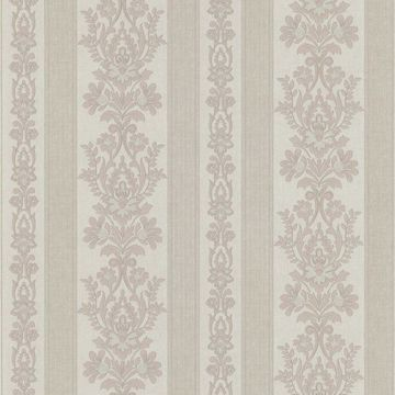 Kensington Mauve Damask Stripe