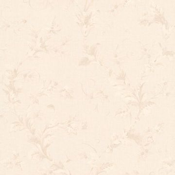 Totteridge White Leafy Scroll