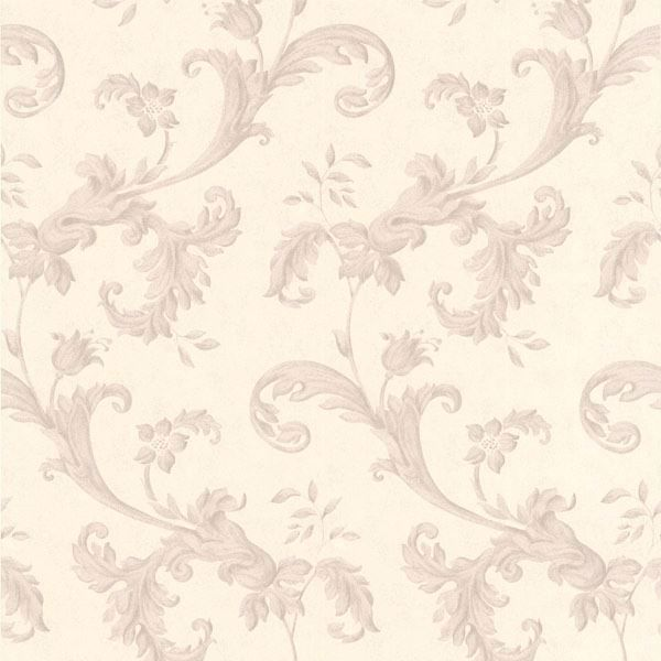 Isleworth Mauve Floral Scroll