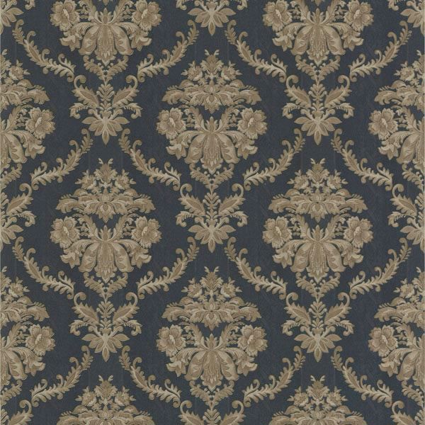 Westminster Dark Blue Damask