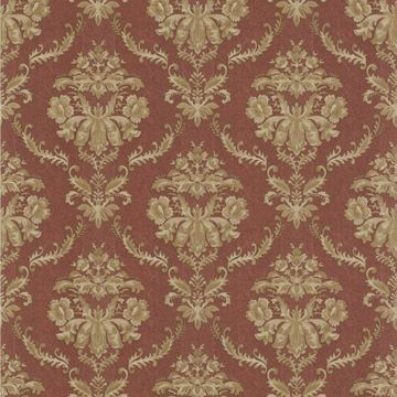 Westminster Burgundy Damask