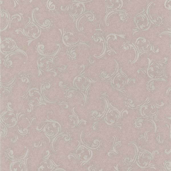 Highgate Mauve Embroidered Scroll