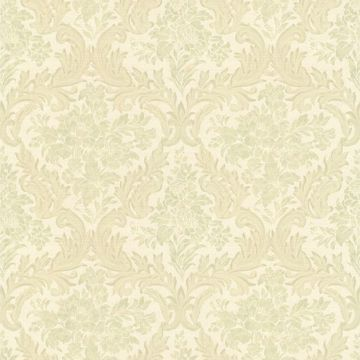 Cotswold Light Green Floral Damask