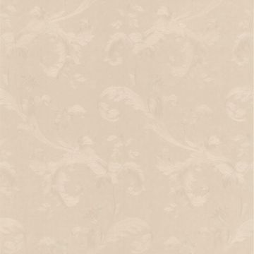 Isleworth Light Grey Floral Scroll