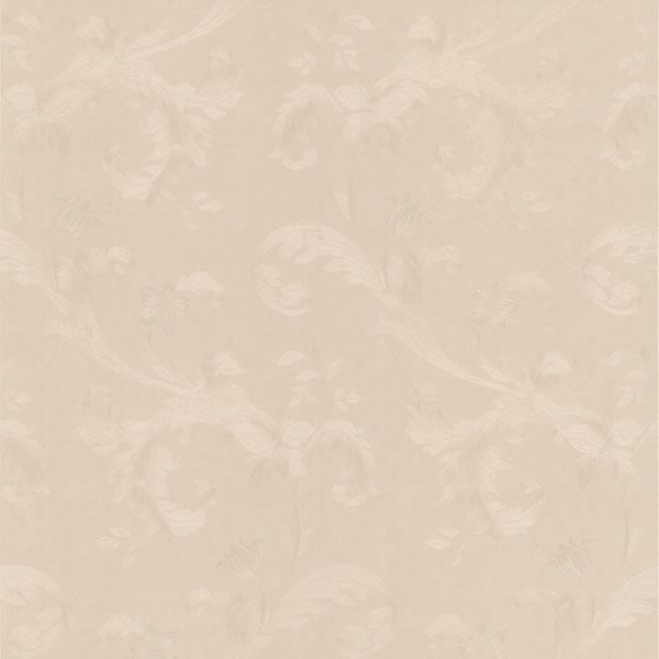 Isleworth Light Grey Floral Scroll