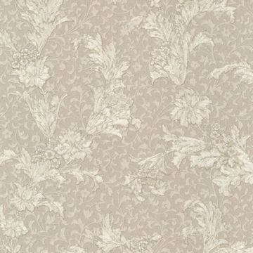 Empire Taupe Floral Scroll