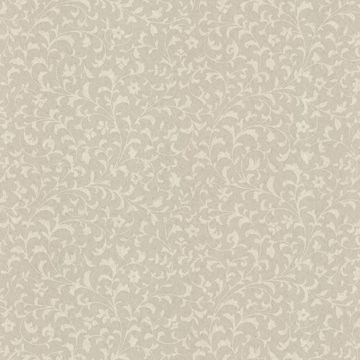 Emperor Taupe Scroll Print