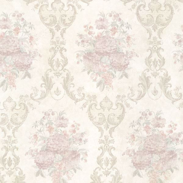 Dutchess Blush Floral Damask