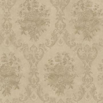 Dutchess Olive Floral Damask
