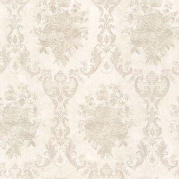 Dutchess Platinum Floral Damask