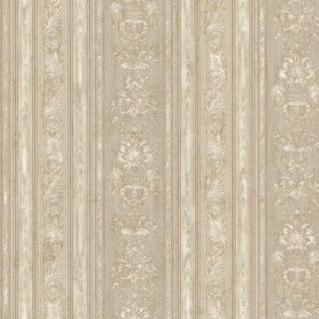 Majesty Olive Damask Stripe