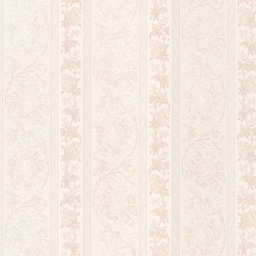 Sublime Champagne Scroll Stripe