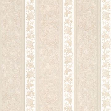Sublime Cream Scroll Stripe