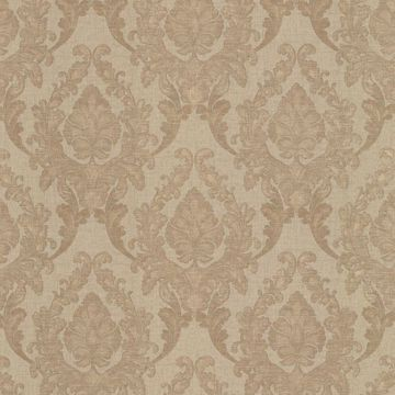 Regal Brass Damask