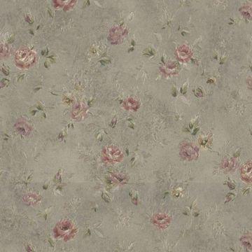 Alex Olive Delicate Satin Floral Trail