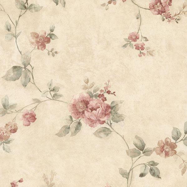 Mary Salmon Floral Vine