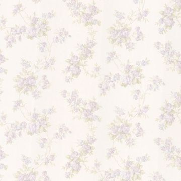 Tiffany Lavender Satin Floral Trail