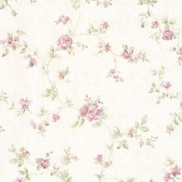 Mary Mauve Floral Vine