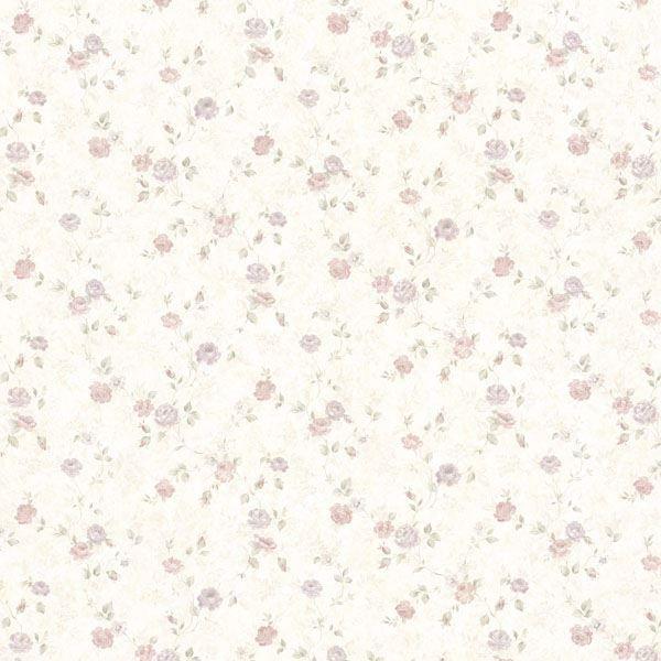 Alex Pastel Delicate Satin Floral Trail