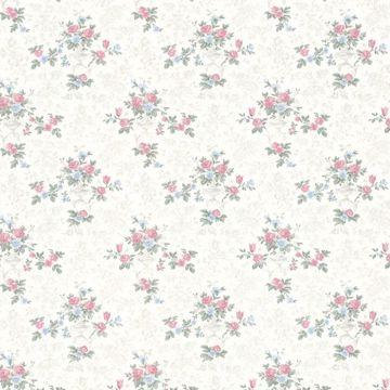 Kezea White Petit Floral Urn
