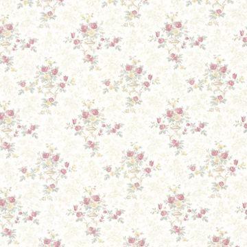 Kezea Pink Petit Floral Urn