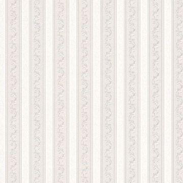 Kendra Platinum Scrolling Stripe