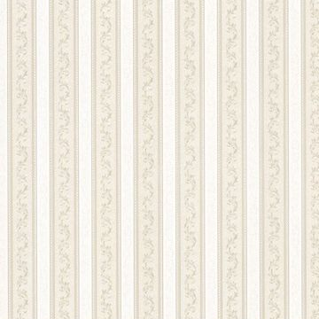 Kendra Taupe Scrolling Stripe