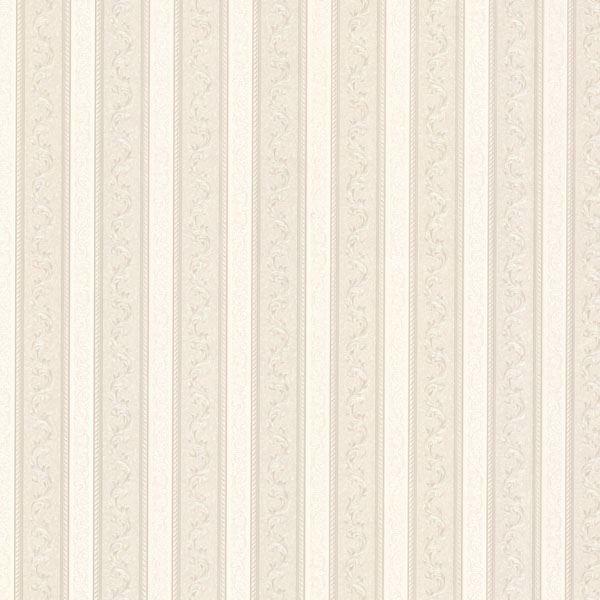 Kendra Neutral Scrolling Stripe