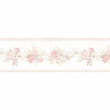 Lory Blush Floral Border