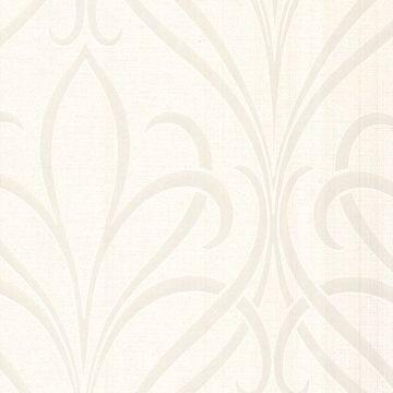 Lalique White Noeuveau Damask