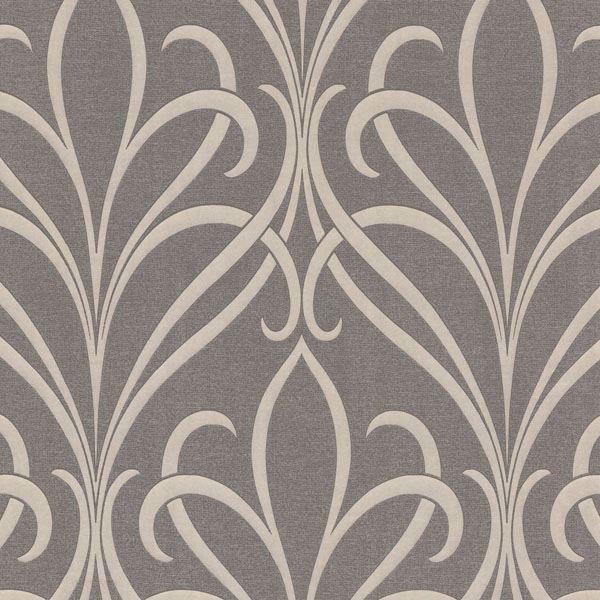 Lalique Brown Nouveau Damask