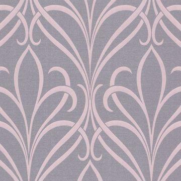 Lalique Purple Nouveau Damask